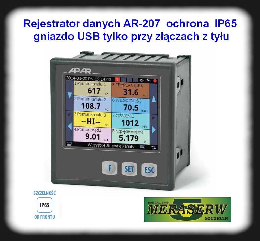 AR207 IP65