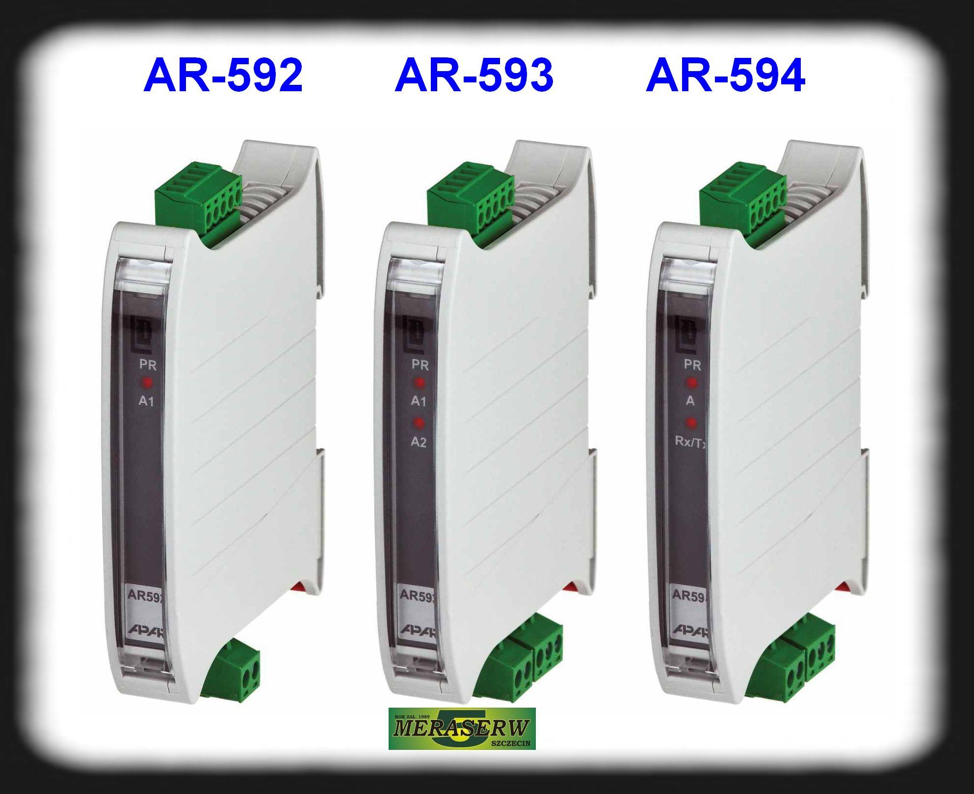 AR592 , AR593 , AR594