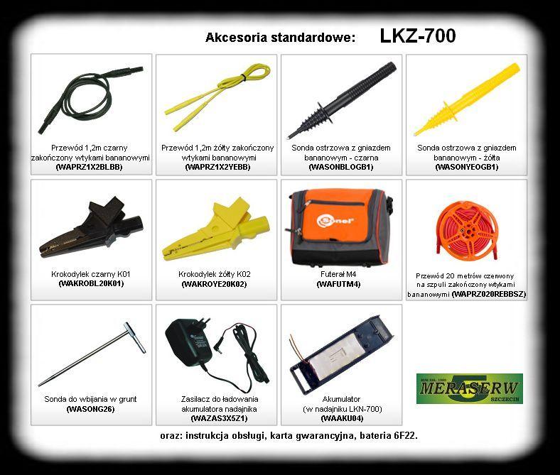 LKZ-700 wyposa�enie
