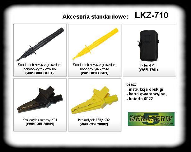 LKZ-710 wyposa�enie